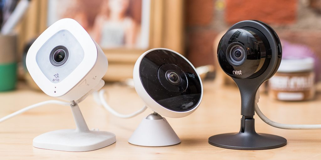 security cameras interior, exterior and night vision
